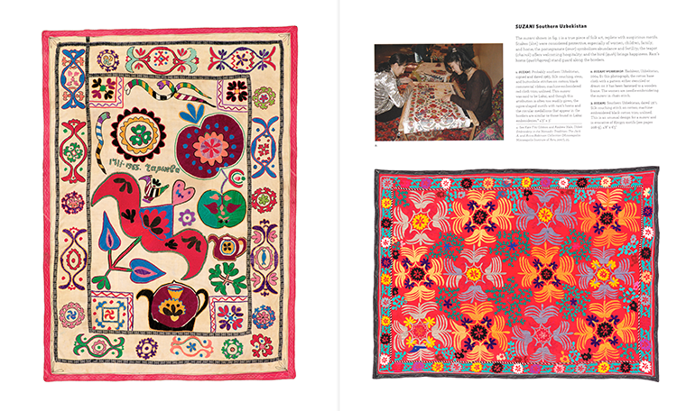 Silk and Cotton - Suzani