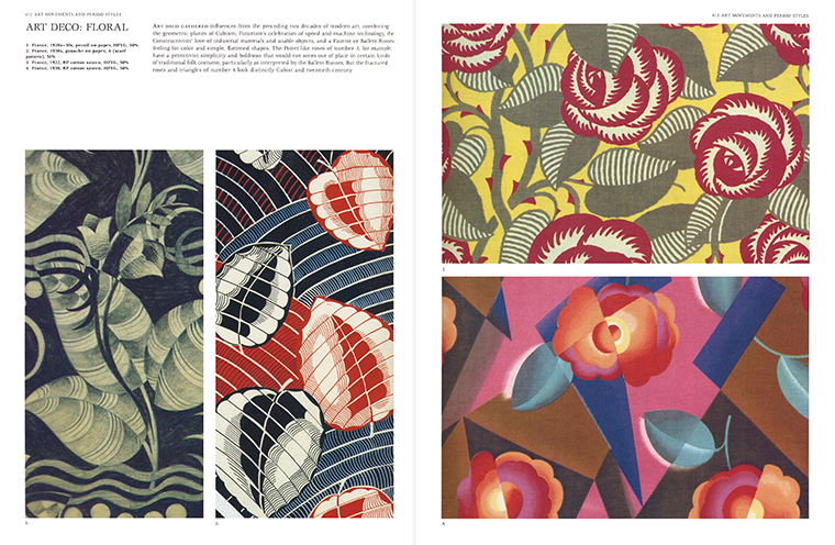 Textile Designs - Art Movements and Period Styles